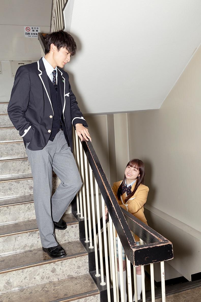 【写真を見る】橋本環奈と小関裕太のナチュラルな表情がたまらない!