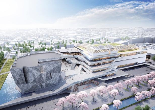 KADOKAWAによる日本初の分化型コンテンツモール。 ミュージアム、イベントホール、ホテル、レストラン、書店、オフィス、神社など、あらゆる文化をひとつにしたクールジャパンの拠点だ
