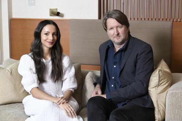 『キャッツ』の主演女優、フランチェスカ・ヘイワードとトム・フーパー監督