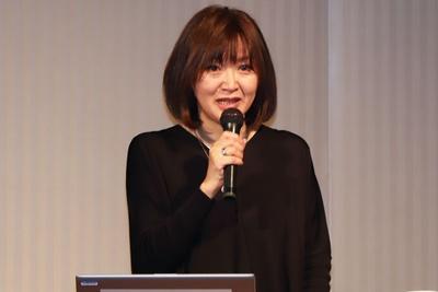 昨年12月に開催された「チョコレートフォーラム2019」に登壇した、チョコレートジャーナリスト・市川歩美氏