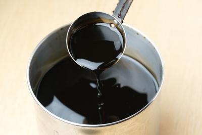 「らーめん 許々屋」で使われているたまり醤油は、豚清湯スープとの相性抜群