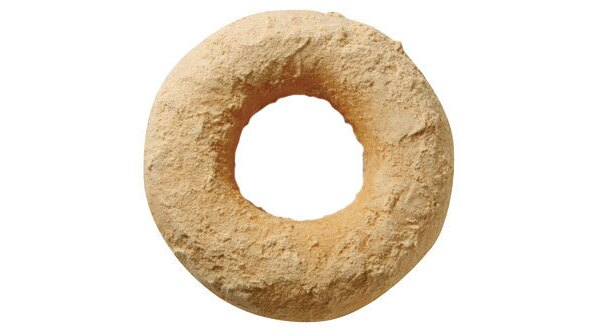 1/7(水)から発売されるミスドの米粉ドーナツ(写真はきなこ、115円)