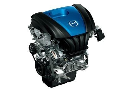 【画像】超低燃費を実現! デミオに搭載予定の新エンジン「SKYACTIV-G」