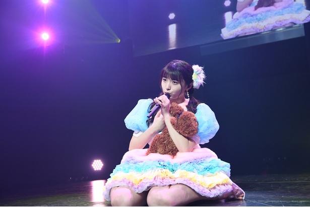 『AKB48久保怜音ソロコンサート ~わたあめランドへようこそ~』(C)AKS