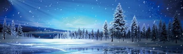 12月末から始まった冬の景色をモチーフにしたプロジェクションマッピング。最新の技術で絶景が楽しめる / 浜名湖レークサイドプラザ 三ヶ日温泉 万葉の華
