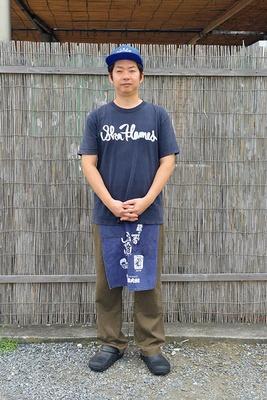 「中華そば 四つ葉」の店主・岩本和人さん