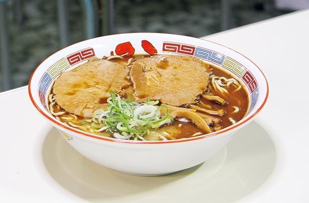 【写真】旭川ラーメンの伝統を守る昔ながらのダブルスープは健在