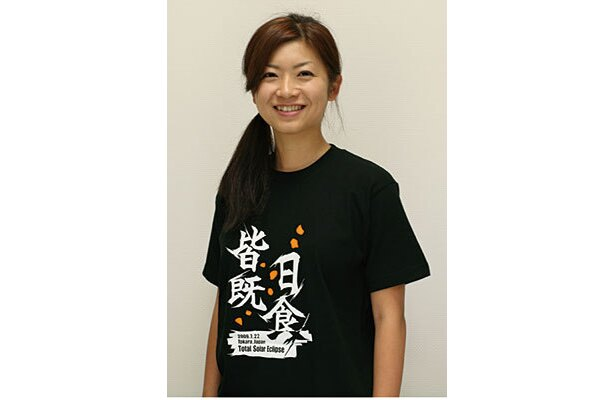 トカラ皆既日食記念Tシャツ(2480円)なども発売されている