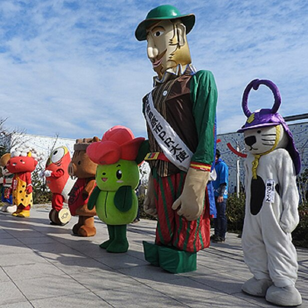 ご当地キャラまつり / 九州各地のご当地キャラが勢ぞろい ※写真は過去開催のもの
