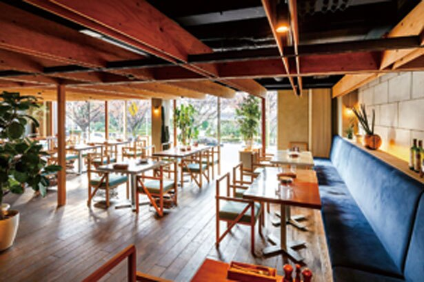 メキシコの建築家ルイス・バラガンのスタイルに着想を得たおしゃれな空間も魅力/西洋酒樓 六堀
