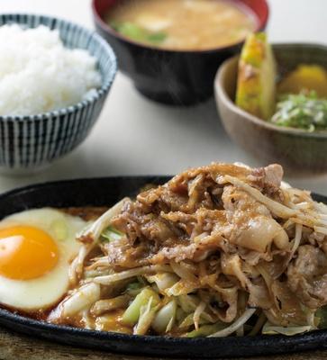 仔馬 ドライブイン / 「焼肉定食」(820円・税込)