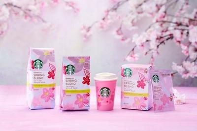 スターバックスのサクラシーズンを楽しむ春季限定コーヒーが家庭用製品として発売