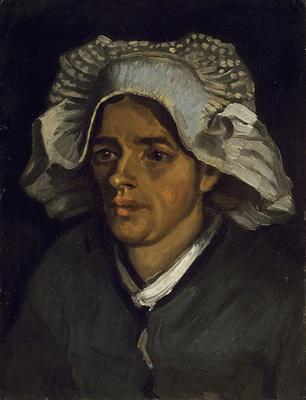 フィンセント・ファン・ゴッホ《農婦の頭部》 1885年 油彩・カンヴァス 46.4×35.3cm スコットランド・ナショナル・ギャ ラリー
