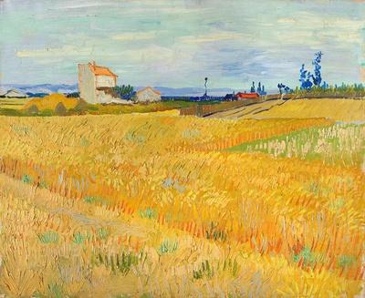 フィンセント・ファン・ゴッホ《麦畑》 1888年6月 油彩・カンヴァス 50×61cm P. & N. デ・ ブール財団