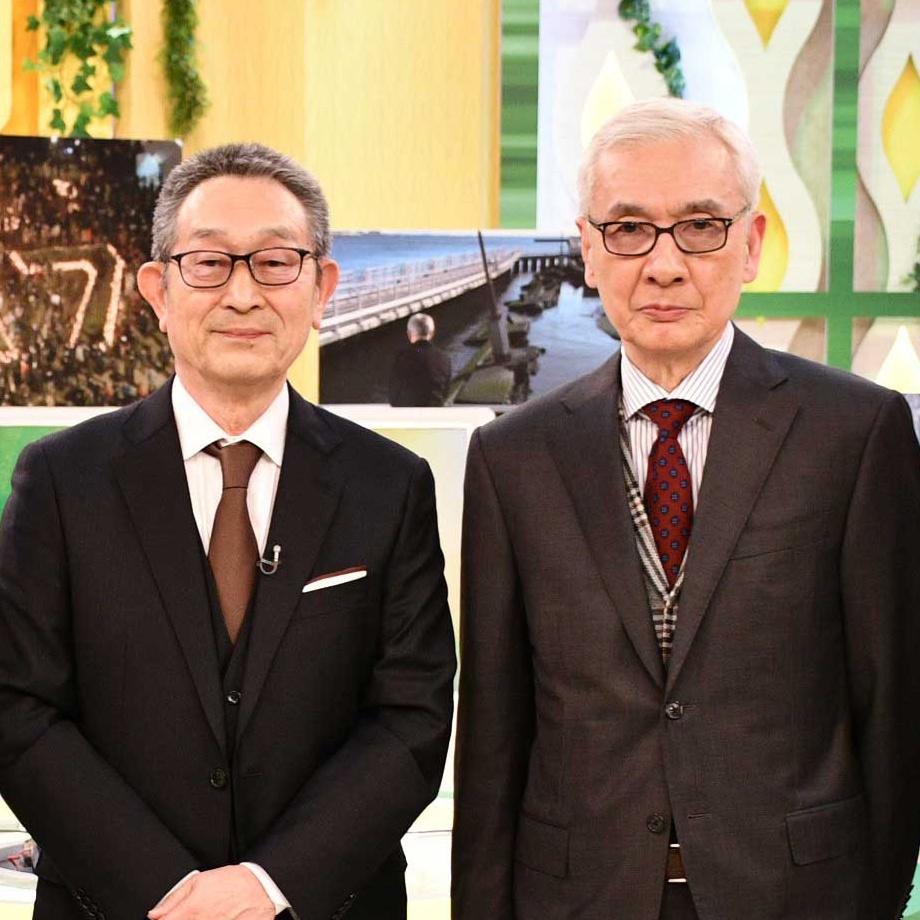 影山貴彦のテレビのホンネ。道上洋三と久米宏 「キャスト」震災企画