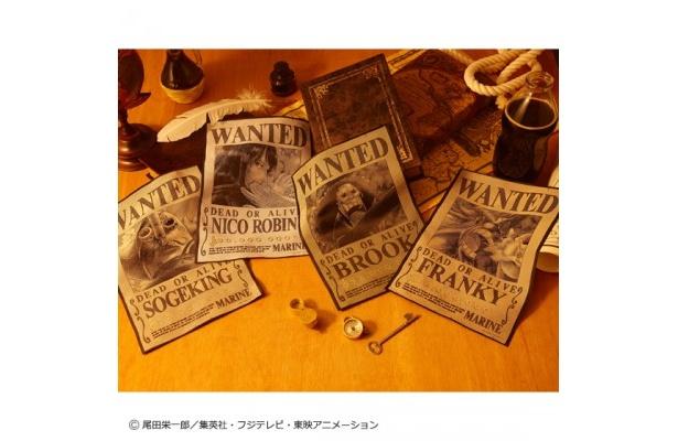 『織アート THE・手配書』シリーズ第3弾(2600円/4種類)