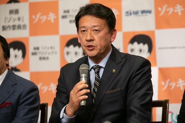 蒲郡市長の鈴木寿明
