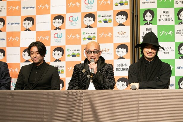 プロジェクトの発起人である竹中は、大橋作品の大ファン