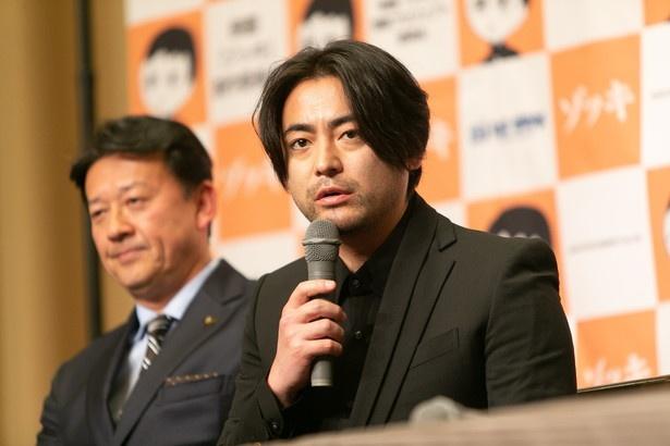 山田は、今作で初めて監督に挑戦する
