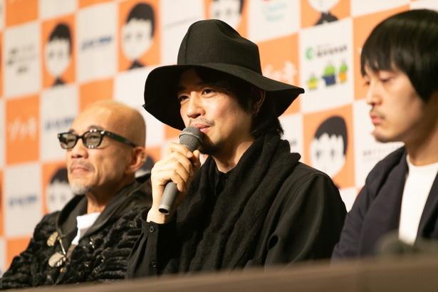 日本映画界に対する思いを語る、齊藤