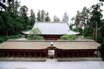 比叡山延暦寺根本中堂 ※2026(令和8)年改修工事完了予定