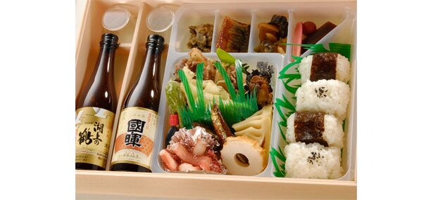 老舗の酒造が全面協力した島根県松江の「ごきげん弁当」〈1500円〉