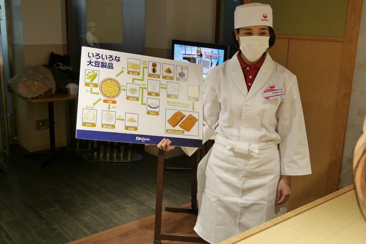 大豆製品のことやいなりずしの歴史を学びます