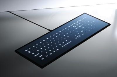 クールすぎる斬新なデザインのキーボード!