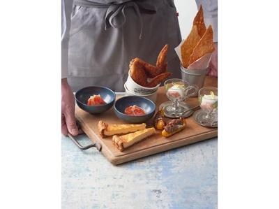 Appetizer Platterには KIHACHI 自慢の前菜盛り合わせが登場