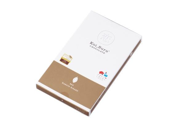 恋するチョコレート黒糖きなこのパッケージ/ISHIYA SHINSAIBASHI