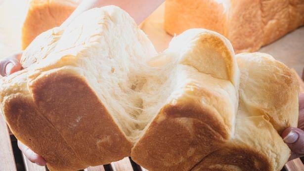 【写真】看板メニューの「ゆめちからもちもち生食パン」