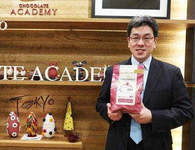 「ルビーチョコの世界最大市場は日本」と語る、バリーカレボージャパン株式会社・若林洋介さん