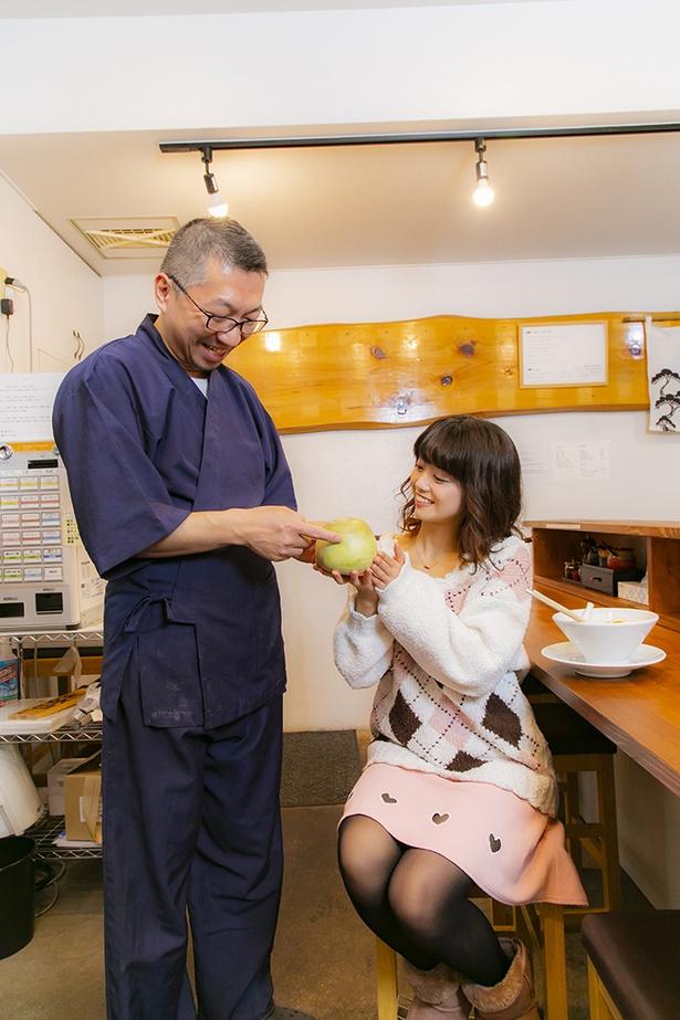 店主の長田輝人さん。東京の有名店で修業