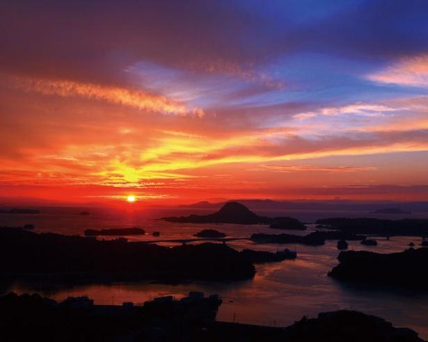 夕景も非常に美しい / 雲仙天草国立公園 高舞登山