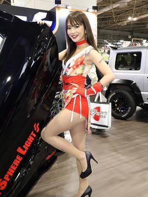 「第24回 大阪オートメッセ2020」の美人コンパニオン