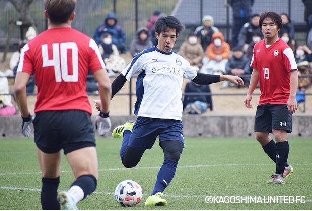 鹿児島ユナイテッドFCのMF中村健人選手