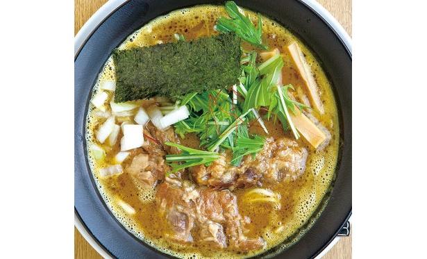 「麺屋 白神」軟骨カレーラーメン900円を450円に。〜1/18(日)夜のみ20杯程度