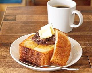 シンプルで奥深い「あんバタ―トースト」カフェ2選