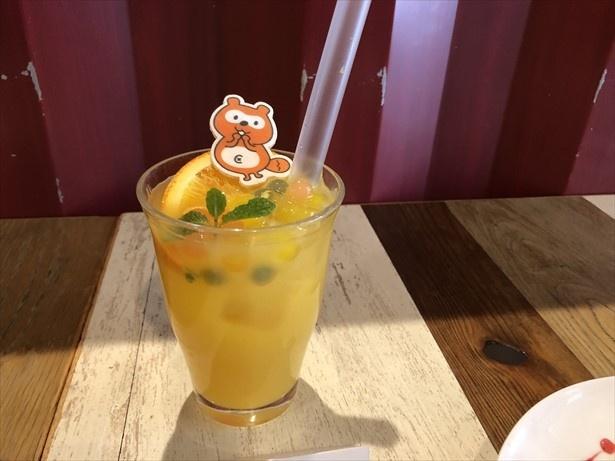 """ポンタの""""うふふ""""なオレンジジュース"""