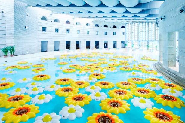 フォトジェニックに遊べる空間を演出する「花咲くイルマーレ」