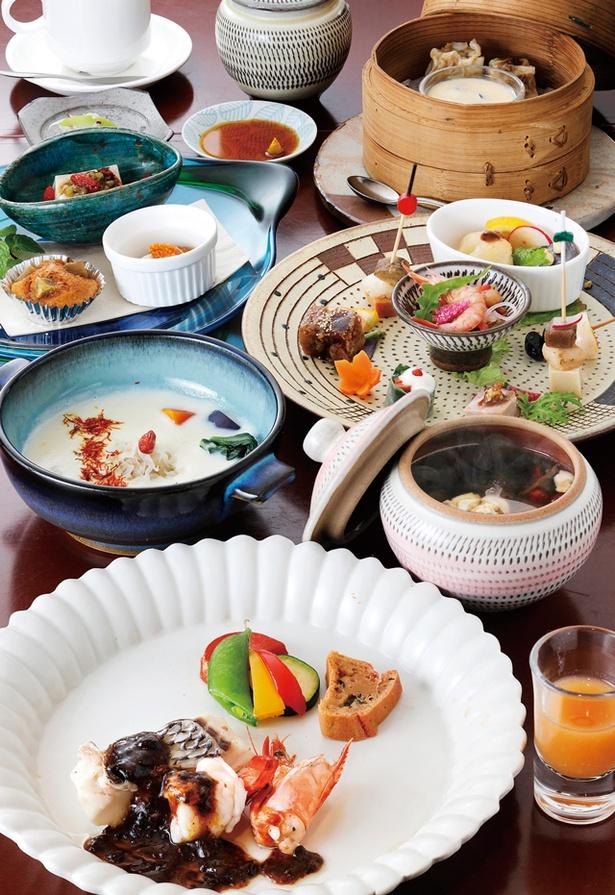 低温スチーム&ドライ薬膳レストラン 蒸士茶楼 / 「ランチコース」(2500円)