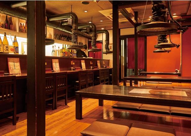 熊本ホルモン / 創業22年の焼肉専門店。ランチタイムは地元客や観光客でにぎわう