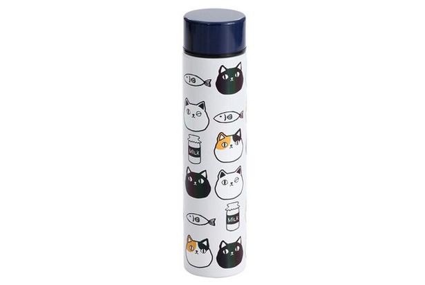 ステンレスプチボトル200ml 猫3兄弟 / 「IMS presents ねこがかわいいだけ展」