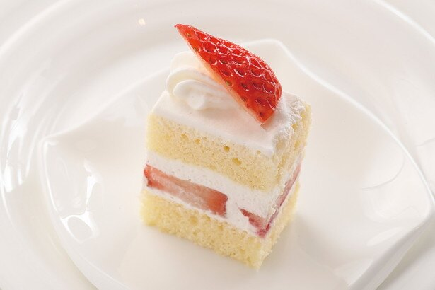 コクのある生クリームといちごの爽やかな味がベストマッチ!「苺のショートケーキ」