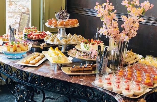 「サクラ&いちご」をテーマとしたケーキが食べ放題!