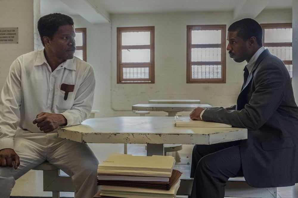 ジョーダンは冤罪の死刑囚のために戦う実在の弁護士ブライアン・スティーブンソンを演じている