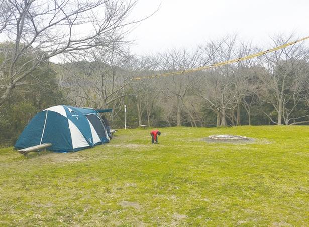 菖蒲谷池自然公園 / 無料で使えるキャンプ場