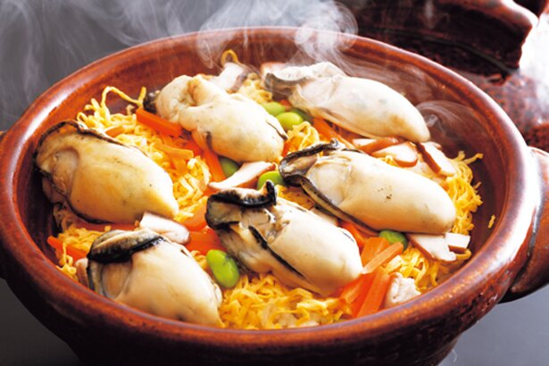 牡蠣鍋や牡蠣フライ、牡蠣の釜飯と豪華カキざんまい/潮彩きらら 祥吉