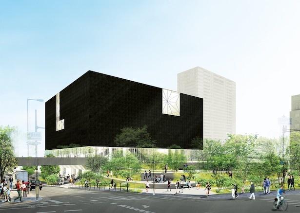 『大阪中之島美術館』外観イメージ