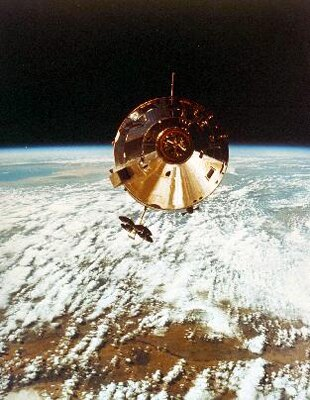 人類が初めて月に降り立ってから40年。いまだに地球外に立った人間は、12人しかいない。(提供:NASA)